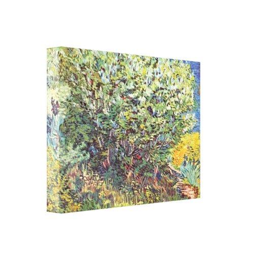 Slip Away by Vincent van Gogh Canvas Print