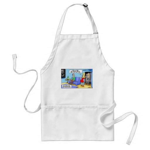 Slip Into A Teddy..Roosevelt Funny Gifts Mugs Etc Aprons