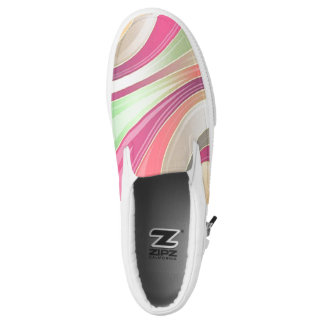 Slip on Canvas Shoes Printed Shoes
