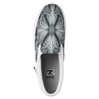 Slip-on shoe printed shoes