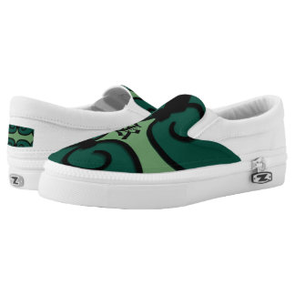 Slip On Shoes IRONWORK SCROLLWORK 3 Printed Shoes