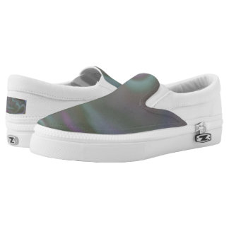 Slip on Shoes with colourful tie dye Printed Shoes