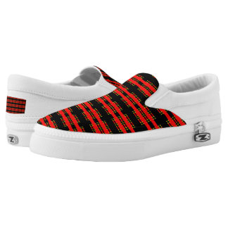 Slip On ZIPZ Shoes Printed Shoes