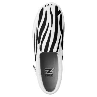 Slip ons printed shoes