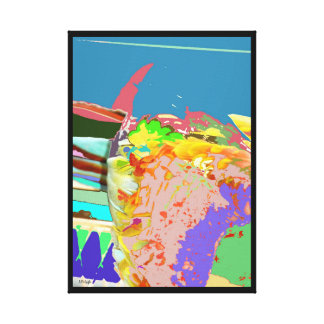 Slip Stream Canvas Print