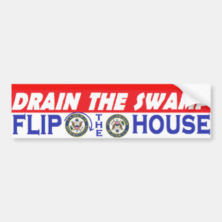 Slip The House Bumper Sticker