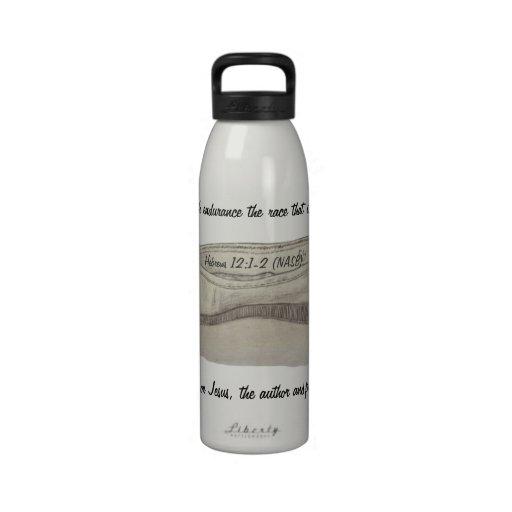 Slipon Shoe Sketch Run With Endurance Water Bottle