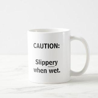 Slippery Basic White Mug