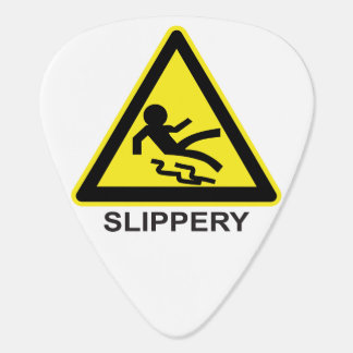 Slippery Hazard Guitar Pick