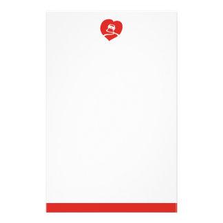 Slippery Love Sign stationery