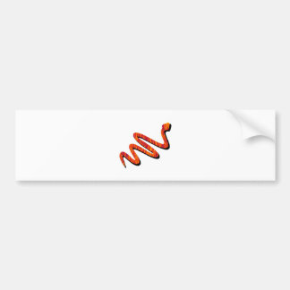 Slither Path Bumper Sticker