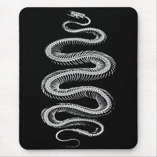 Slithering Snake Skeleton Mouse Pad