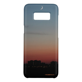 Sliver of a moon on a Summer Evening Case-Mate Samsung Galaxy S8 Case