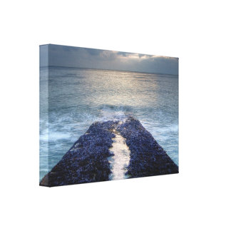 Sliver of Light Gallery Wrapped Canvas