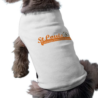 SLLIS Swoop Doggie Ribbed Tank Top Sleeveless Dog Shirt