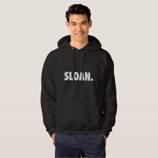 SLOAN. Black Hoodie