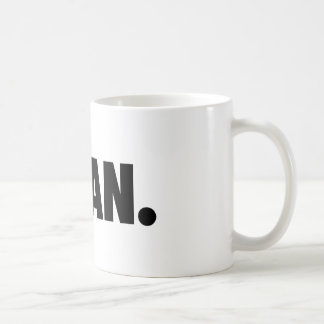 SLOAN. White Clothing Coffee Mug
