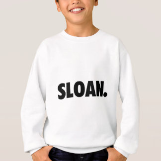 SLOAN. White Clothing Sweatshirt