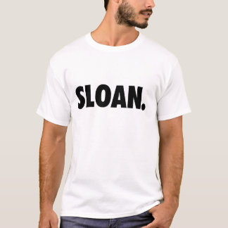 SLOAN. White Clothing T-Shirt