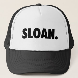 SLOAN. White Clothing Trucker Hat