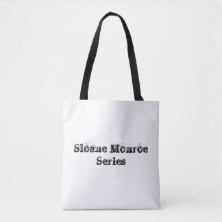 Sloane Monroe Series Tote Bag - White