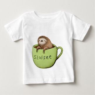 Sloffee Coffee Sloth Baby T-Shirt