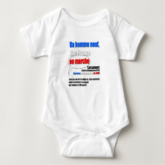 Slogan En Marche - Baby Bodysuit