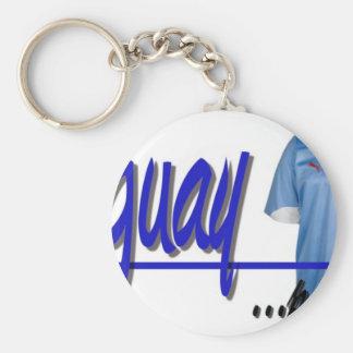 slogan Uruguay camiseta Llavero