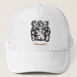 Slongo Coat of Arms (Family Crest) Trucker Hat