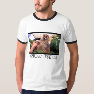 slooow loris t shirts