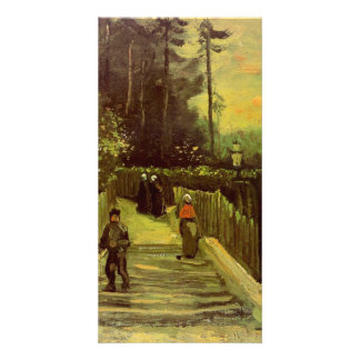 Sloping Path in Montmartre by Vincent van Gogh Photo Greeting Card