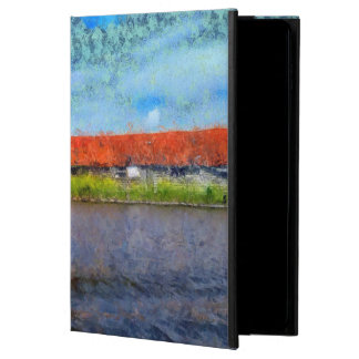 Sloping red roofs powis iPad air 2 case