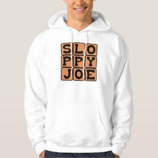 Sloppy Joe, Comfort Food Sandwich Hoodie