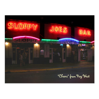 Sloppy Joe's Postcard