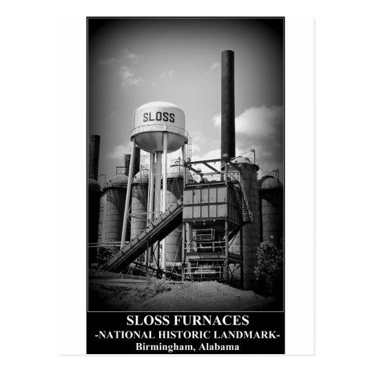 SLOSS FURNACES - National Historic Landmark Postcard