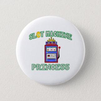 Slot Machine Princess (Tiara) 6 Cm Round Badge