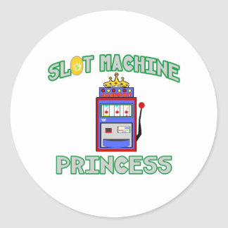 Slot Machine Princess (Tiara) Stickers