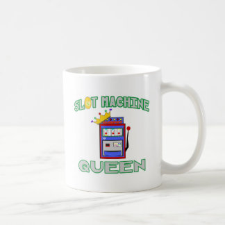 Slot Machine Queen Coffee Mugs