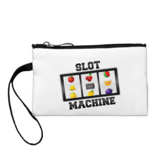 Slot Machine Tilted Icon Coin Purse