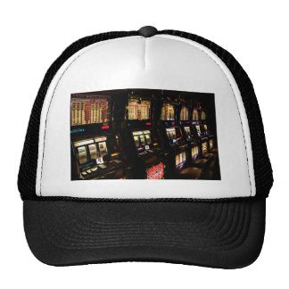 Slot machines mesh hats