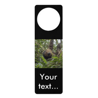 Sloth_20171103_by_JAMFoto Door Hanger