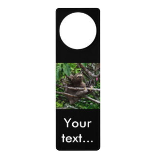 Sloth_20171106_by_JAMFoto Door Hanger