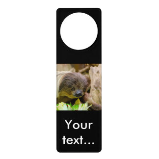 Sloth_20171107_by_JAMFoto Door Hanger