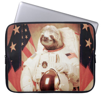 Sloth astronaut-sloth-space sloth-sloth gifts laptop sleeve