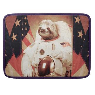 Sloth astronaut-sloth-space sloth-sloth gifts sleeve for MacBooks