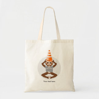 Sloth Be A Unicorn Safety Cone Tote Bag