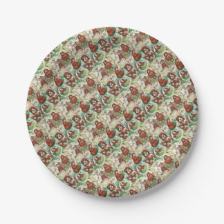 sloth coffee paper plate