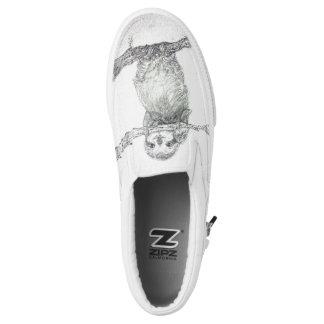 sloth,cute sloth,cute baby sloth, Slip-On shoes