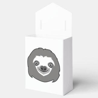 Sloth Face Favour Box