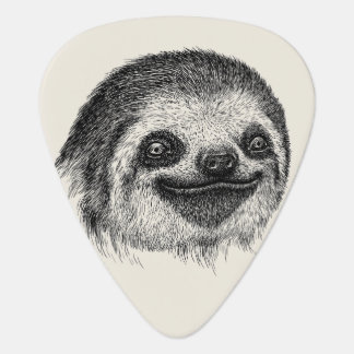 Sloth Face Guitar Pick